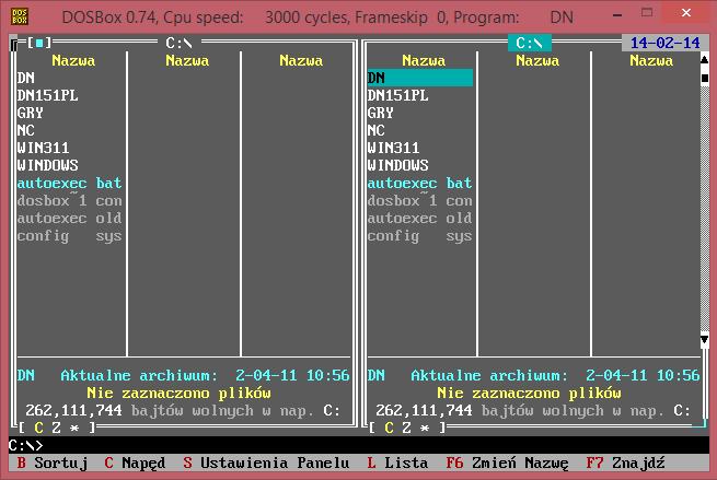 Dosbox Config Sys